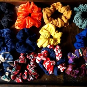 VTG SCRUNCHIE BUNDLE LOT 12PC